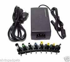 100W Universal Laptop Power Adapter AC Car DC Charger For Laptop/Notebook