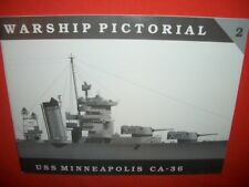 Warship Pictorial 2, USS Minneapolis ca-36