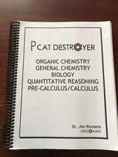 Pharmacist Orgoman PCAT Destroyer 2015