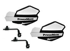 Powermadd Suzuki LTZ250 Star Handguards Black//White