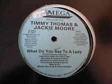 Timmy Thomas & Jackie Moore What Do You Say To A Lady 12""