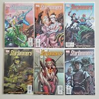 Star Jammers 2004 Anderson Garza 1 2 3 4 5 6 Set Series Run Lot 1-6 VF/NM