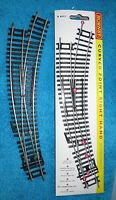 HORNBY  OO GAUGE TRACK R 8075 NEW IN PACK RIGHT HAND CURVED  POINT
