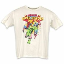 Junk Food Marvel Super Heroes The Hulk Spiderman & Captain America T Shirt 2Xl