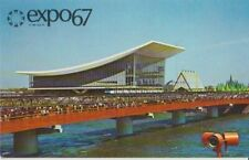 Expo 67 Montreal Canada Soviet Union Pavilion Postcard - Unused Excellent