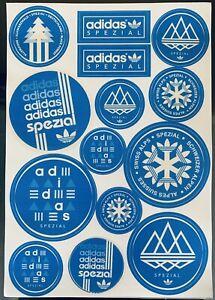 Adidas Originals Spezial Sticker Sheet Bnibwt UK10 SPZL