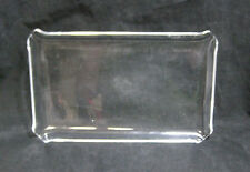 """Acrylic Tray 11-3/4"""" x 7"""" Food Party Serving Store Display Dish Platter w/Feet"""