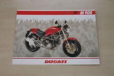 167369) ducati m 900 folleto 199?