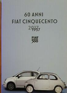 """5 Euro Argento Italia 2017 """"60 ANNI FIAT  500"""" in folder."""
