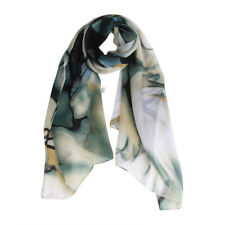Grace Women Ladies Floral Printed Long Wrap Shawl Chiffon Soft Scarf