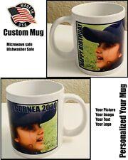 Coffee mug personalized Custom Photo Text Logo Name Printed Ceramic 11oz mug