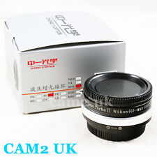Zhongyi Focal Reducer Lens Turbo II Booster Nikon F to Micro 4/3 Adapter OM-D G7