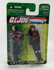 2004 Hasbro  G.I. JOE VALOR vs VENOM BARONESS Action Figure Toy Arah