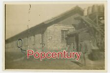 WW2 Photograph 1945 China Burma Road Ledo CBI GSS Headquarters Barracks Building