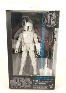 "Hasbro Star Wars Black Series Walgreens Exclusive 6"" Prototype White Boba Fett"