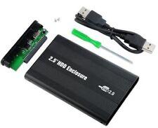 CASE alluminio per Hardisk HDD 2.5 IDE USB 2,5 box contenitore esterno cover ide