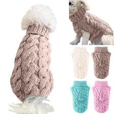 Mascota Perro Cálido Cuello Alto Chaleco Ropa Abrigo Perrito Suéter Invierno