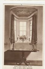 Dining Room Window Alcove Angel & Royal Hotel Grantham RP Postcard 323a