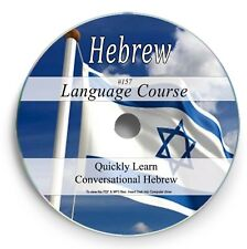 Learn to Speak Hebrew - Language Course - 22 Hrs Audio MP3 & TextBook on CD 157