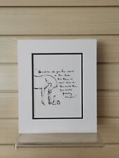 Charlie Mackesy book extract mounted. The boy, the mole,the fox and the horse M
