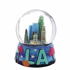 Los Angeles Skyline Snow Globe 2.5 Inches