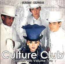 Culture Club / Various ‎CD Greatest Hits Volume Two - England (EX/M)