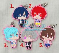 Uta no Prince-sama Shining All Star After Secret Keychain Rubber Phone Strap New