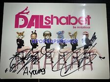 Dal Shabet 6th Mini Album Be Ambitious Autographed Signed CD Cover Good Cond.