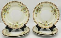 """Vintage Yamaka China Dinner Plates Pattern YAM6 10"""" Set of 7"""