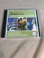 Britannica Desktop Encyclopedia CD Disc Merriam Webster Collegiate Dictionary +