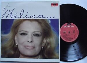 LP- Melina Mercouri – Si Melina...M'Etait Contée -1°STAMPA FRANCESE 1974-N.MINT