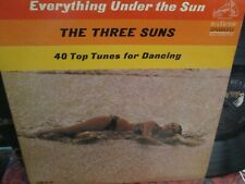 The Three Suns Lp Everything Under The Sun Ex Disc 1964 Cheesecake Cover