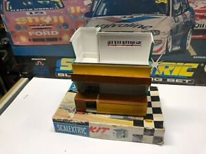 SCALEXTRIC TRIANG KIT BUILD OWNERS PIT SPARES OR REPAIRS WITH BOX