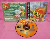 Roll Away -  Playstation 1 2 PS1 PS2 Game Complete Authentic Working 1 Owner
