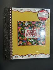 Oh So Breit Mary Engelbreit Recipe Keeper Binder Pockets Personalize Unique