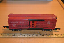 AMERICAN FLYER 629 MP MISSOURI PACIFIC RED STOCK CAR - PAT NO. COUPLERS
