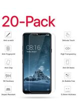 20 Pack Premium Tempered Glass Screen Protector Guard For LG G7 ThinQ