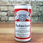 10oz. BUDWEISER ALUMINUM PULL TAB BEER CAN  HOUSTON, TEXAS bottom open!