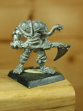 CLASSIC METAL 1980'S CHAMPION OF NURGLE AXE AND BITING TONGUE UNPAINTED (3245)