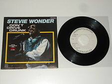 "Stevie Wonder - 7"" Single - MUSTER - SAMPLE COPY - Don't Drive Drunk"
