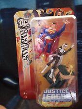 DC La Liga De La Justicia Ilimitada Comic figura DIRECT Superman Dr Luz Aquaman