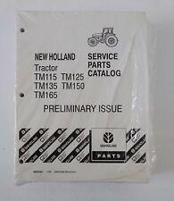 New Holland Tractor Tm115 Tm125 Tm135 Tm150 Tm165 Service Parts Catalog 1999