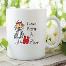 I Love Being A Nurse Mug Nurse Present Gift Christmas Gift Work Coffee WSDMUG241