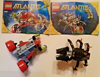 Lego Atlantis Wreck Raider & Monster Crab From 8056 & 8057 With Instructions