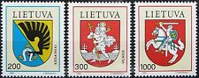Lithuania stamps - Coats of Arms 1992 - MNH.