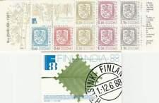 Finland booklet postfris 1987 MNH PB 19 - Staatswapen