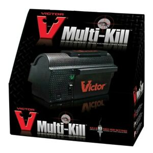 Victor® Multi-Kill™ Electronic Mouse Trap - Brand New - New in Box