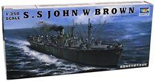 WWII Liberty Ship S.S. John W Brown 1:350 Plastic Model Kit TRUMPETER