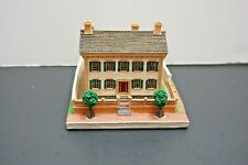 The Danbury Mint 1994 Homes Of The Presidents Lincoln's Home Porcelain Sculpture
