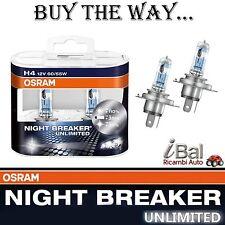 OSRAM LAMPADINE 64193NBUDUO H4 12V 60/55W A. P43t NIGHT BREAKER UNLIMITED COPPIA